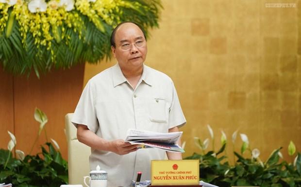 越南政府第50号决议:决不能因困难而退缩 坚持既定目标不动摇 hinh anh 1