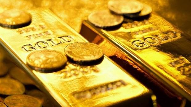 7月17日黄金价格下降5万越盾以上 hinh anh 1