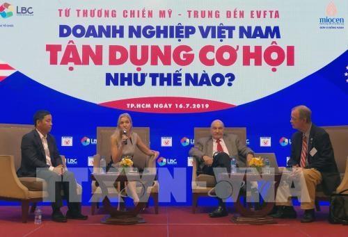 从美中贸易战到EVFTA:越南企业如何抓住机遇? hinh anh 1