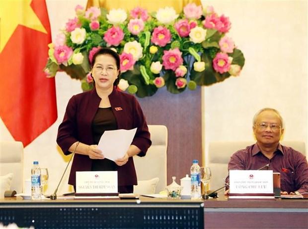 越南国会常委会第35次会议落幕 hinh anh 1