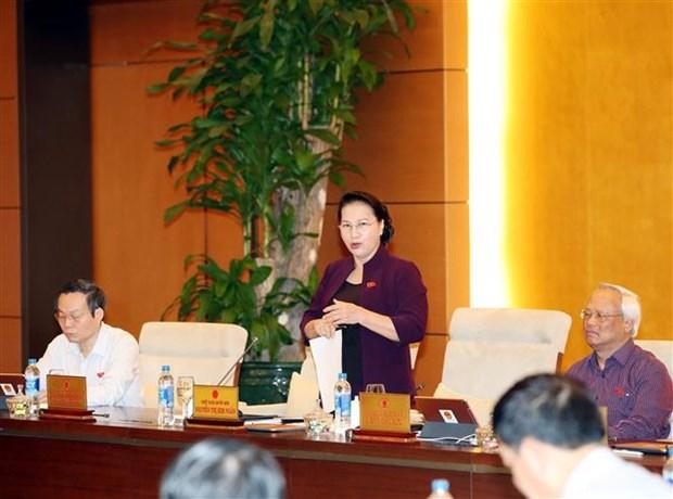 越南国会常委会第35次会议落幕 hinh anh 2