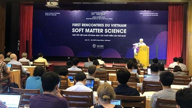 2019年越南会晤:有关软物质的科学会议首次在越南举行 hinh anh 1