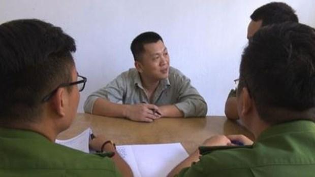 一名涉嫌非法占有他人财产罪的中国籍男子遭起诉 hinh anh 1