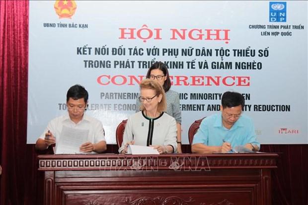 越南通过应用技术4.0推动少数民族妇女经济赋权  hinh anh 1