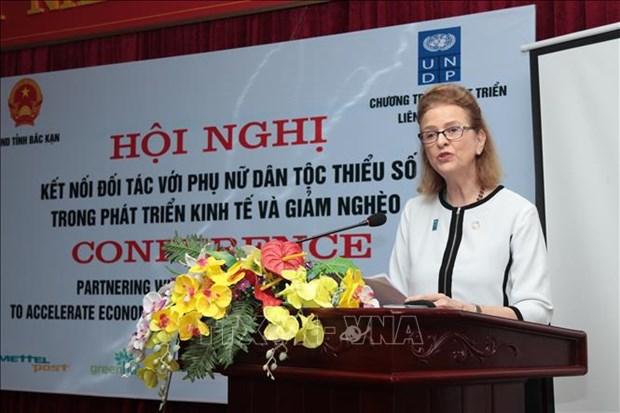 越南通过应用技术4.0推动少数民族妇女经济赋权  hinh anh 2