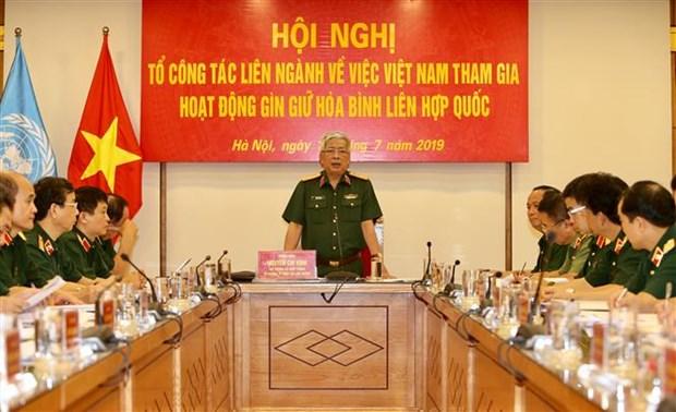 越南计划派遣民事力量参加联合国维和行动 hinh anh 1