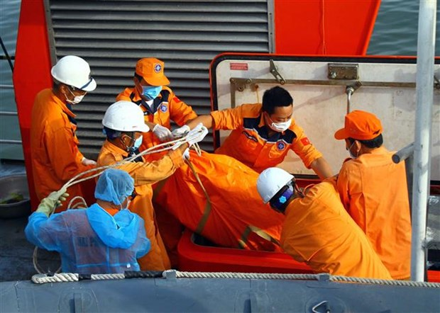 NA 95899 TS号渔船沉没事件:发现两具疑似失踪者遗体 hinh anh 1