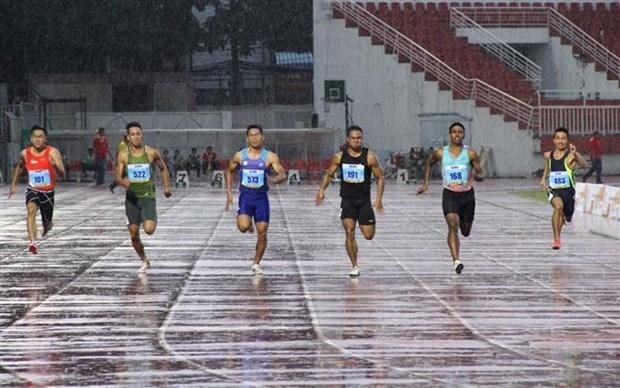 第26届胡志明市国际田径公开赛开幕 国内外55名运动员参赛 hinh anh 3