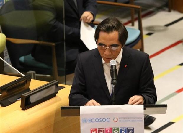 越南在联合国分享实施可持续发展目标的经验 hinh anh 2