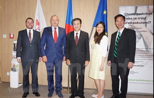 捷克加强与越南的贸易合作 hinh anh 1