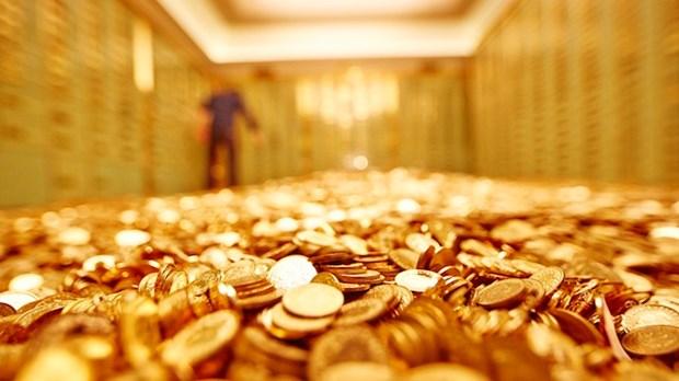7月19日越南黄金价格超过4000万越盾 hinh anh 1