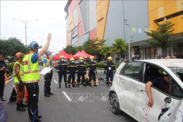 越南参加马来西亚世界应急救援锦标赛 hinh anh 1