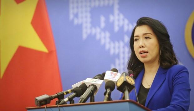 越南要求中国停止在越南海域开展的侵犯行为 hinh anh 1