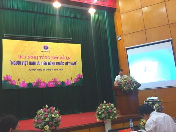 越南力争国产药品在全国使用比例大幅增长 hinh anh 1