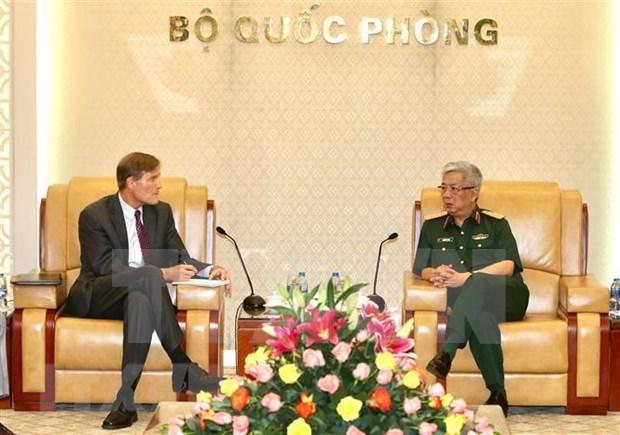 越南与美国加强有关消除战后有毒化学品危害的合作 hinh anh 1