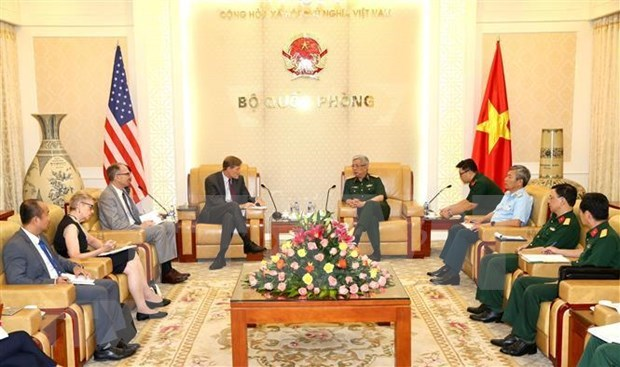 越南与美国加强有关消除战后有毒化学品危害的合作 hinh anh 2