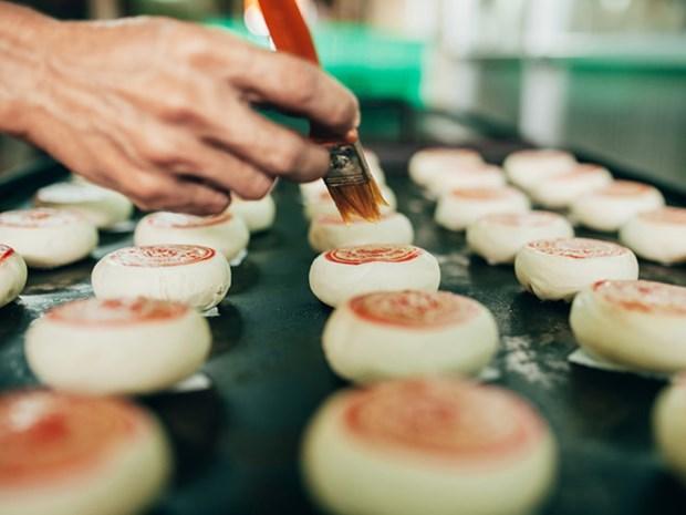 朔庄省的传统榴莲饼制作业 hinh anh 2