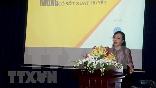 越南卫生部部长:严防登革热疫情蔓延 hinh anh 1