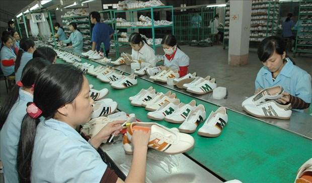 2019年越南力争实现鞋类出口总额达215亿美元的目标 hinh anh 2