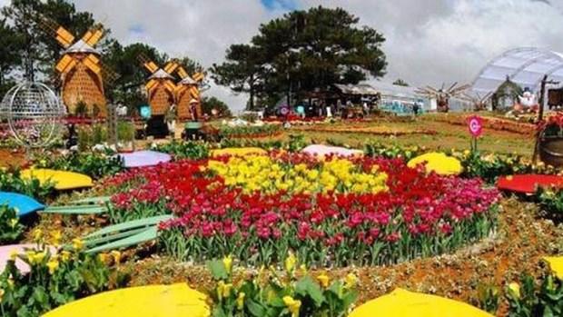 2019年大叻花卉节将于12月20日至24日举行 hinh anh 1