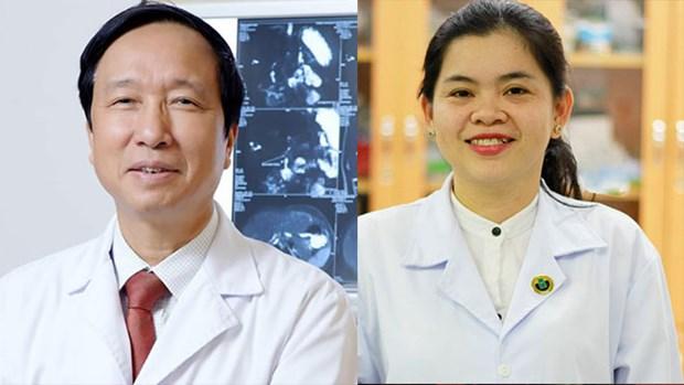 """两名越南人跻身""""亚洲100名杰出科学家名单"""" hinh anh 1"""