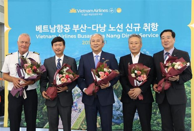 越航开通韩国釜山至越南岘港的直达航线 hinh anh 3