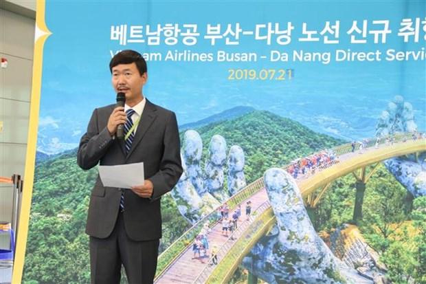 越航开通韩国釜山至越南岘港的直达航线 hinh anh 2