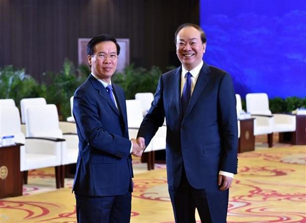越南共产党与中国共产党举行第十五次理论研讨会 hinh anh 2