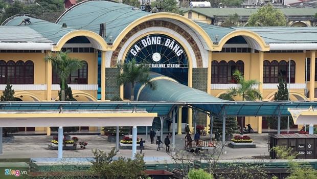 努力保护和弘扬谅山省同登国际火车站的历史价值 hinh anh 3