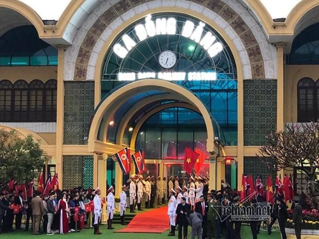 努力保护和弘扬谅山省同登国际火车站的历史价值 hinh anh 1