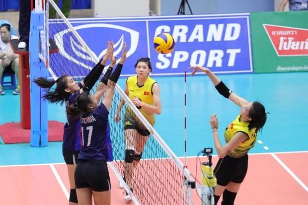 中国队获亚洲U23女排锦标赛冠军 hinh anh 1