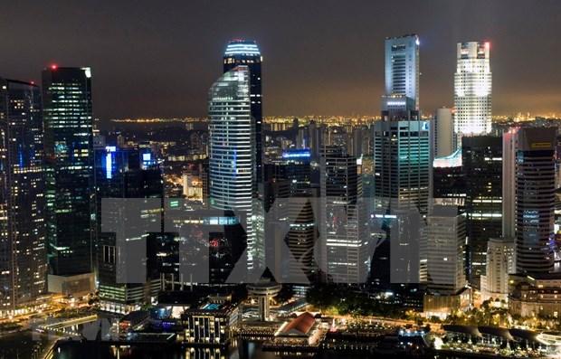 新加坡经济出现放缓迹象 hinh anh 1
