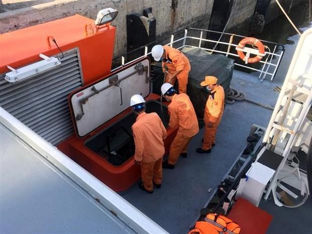 NA 95899 TS号渔船沉没事故:将不完整的船员遗体送上岸 hinh anh 1
