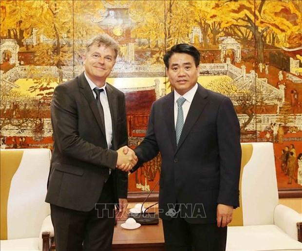 法国共产党代表团访问越南 hinh anh 2