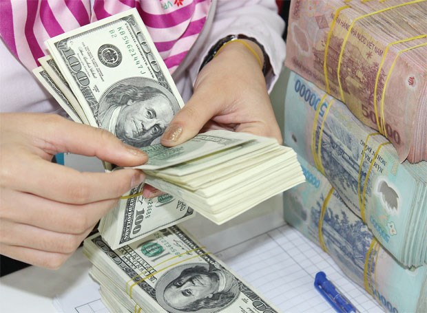 7月23日越盾对美元汇率中间价较前一日保持不变 hinh anh 1