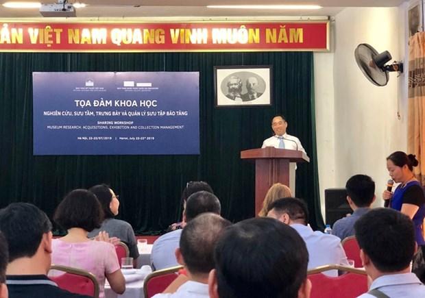 越南与新加坡分享博物馆工作经验 hinh anh 1