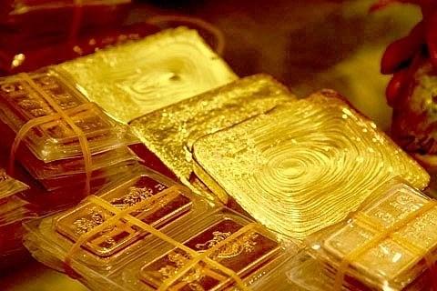 7月23日越南黄金价格大幅下降 hinh anh 1