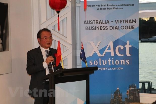澳大利亚-越南企业对话会在澳大利亚举行 hinh anh 1