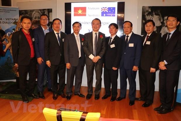 澳大利亚-越南企业对话会在澳大利亚举行 hinh anh 2