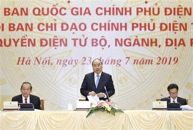 政府总理阮春福:以人民为中心,以人民的满意度为目标 hinh anh 1