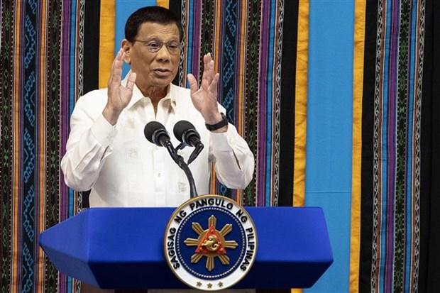 菲律宾总统呼吁继续打击贩毒和反腐 hinh anh 1