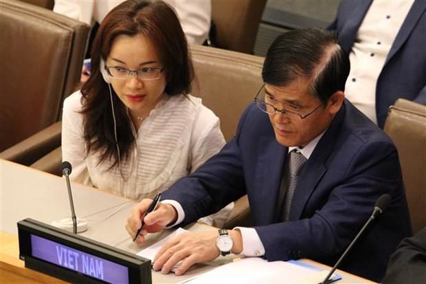 越南为可持续发展目标实施进程提供一切所需资源 hinh anh 2