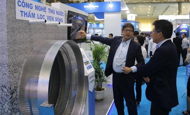 越南给排水及废水处理国际展览会吸引30个国家和地区企业参展 hinh anh 1