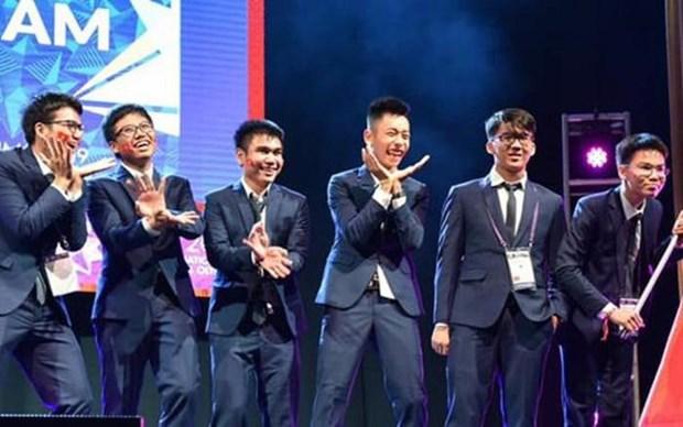 越南学生在2019年国际数学奥林匹克竞赛取得亮眼成绩 hinh anh 1