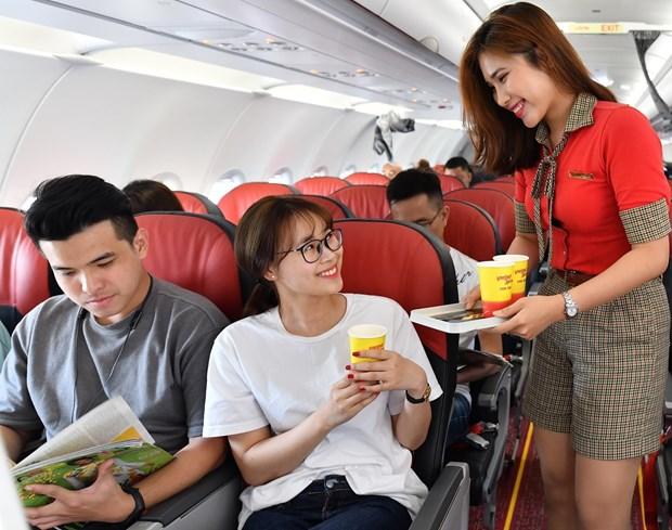 Vietjet推出百万张零越盾机票 与Google合作为旅客提供优质服务 hinh anh 2