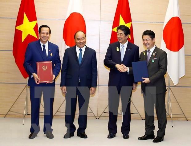 日本驻越大使馆提供有关特定技能签证的新在留资格制度相关信息 hinh anh 1