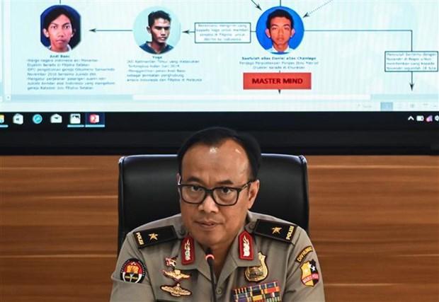 印尼警方挫败一国庆节恐怖爆炸阴谋 hinh anh 1