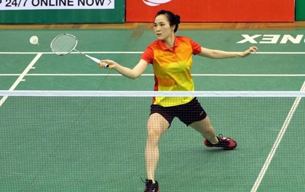 越南选手武氏庄获得2019年度的加纳羽毛球国际赛冠军 hinh anh 2