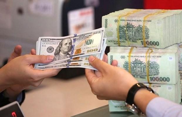 7月25日越盾对美元汇率中间价下调4越盾 hinh anh 1