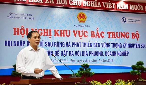 越南中部以北地区融入国际社会会议在承天顺化省举行 hinh anh 2